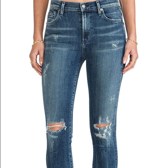 Citizens Of Humanity Denim - Citizens of Humanity ripped skinny jeans